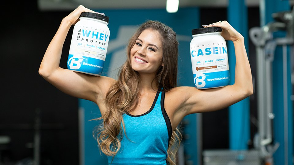 Difference between Casein and Whey Protein