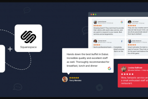 Add A Review Widget To Squarespace