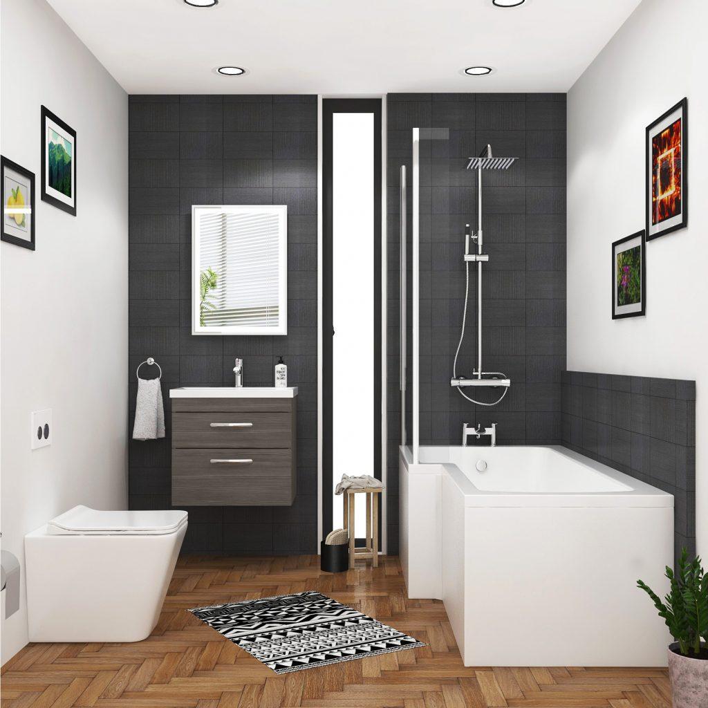 1400mm bath,